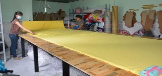 Quy trình cắt vải may áo thun